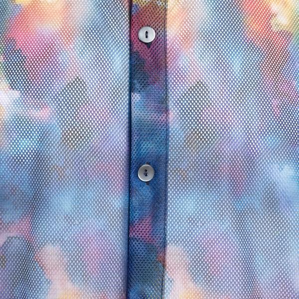 Camicia multicolore in rete                                                                                                                            CORELATE CORELATE