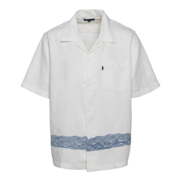 Camicia bianca con ricamo onde                                                                                                                        Levi's 17551 retro