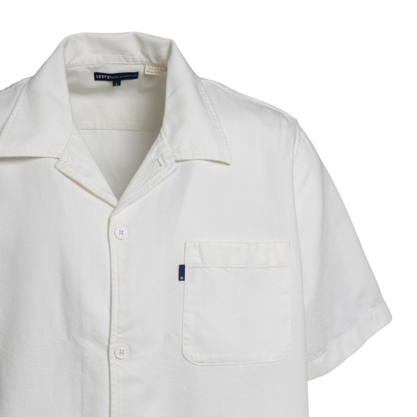 Camicia bianca con ricamo onde                                                                                                                         LEVI'S                                             LEVI'S