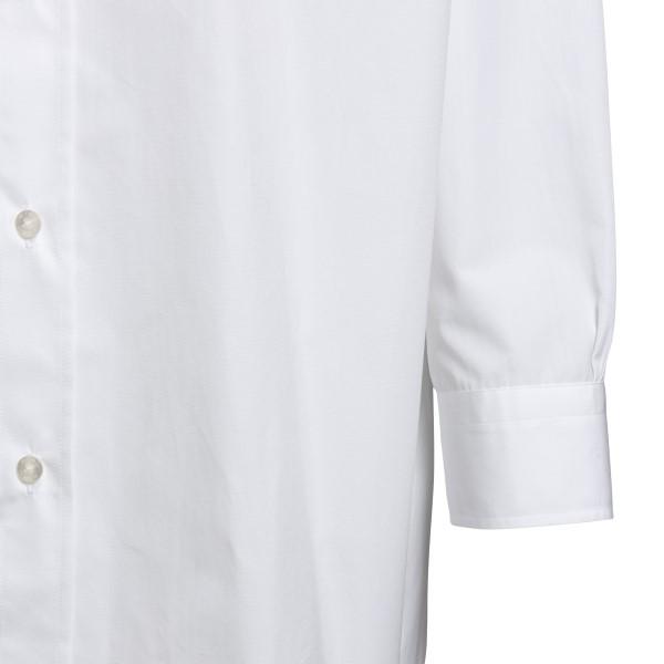 Camicia bianca oversize con logo                                                                                                                       ETRO ETRO