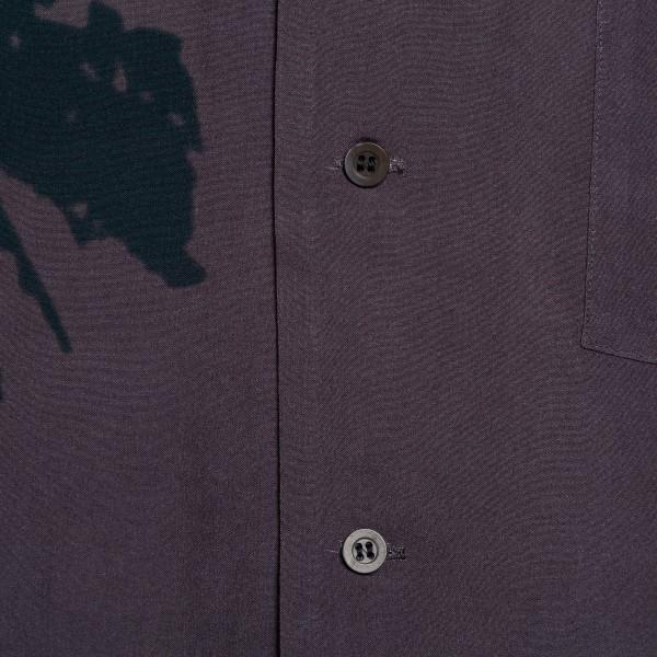 Camicia grigio scuro con stampa                                                                                                                        DRIES VAN NOTEN                                    DRIES VAN NOTEN