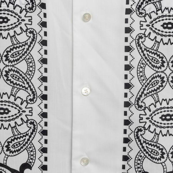 Camicia bianca con stampa paisley                                                                                                                      SACAI                                              SACAI