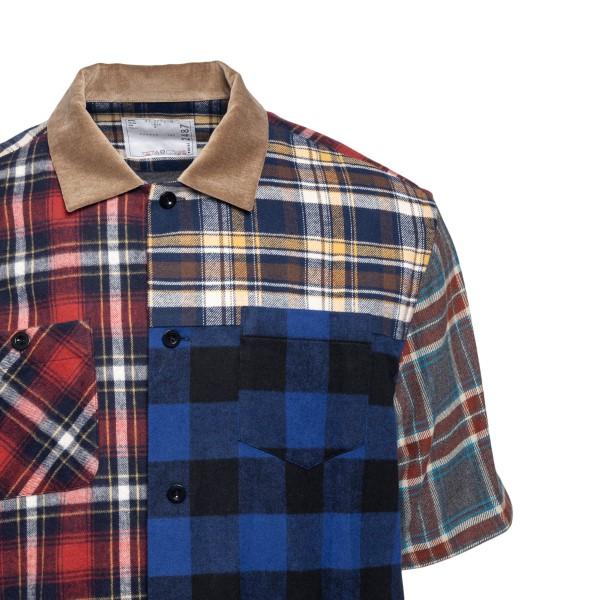 Multicolored checked shirt                                                                                                                             SACAI