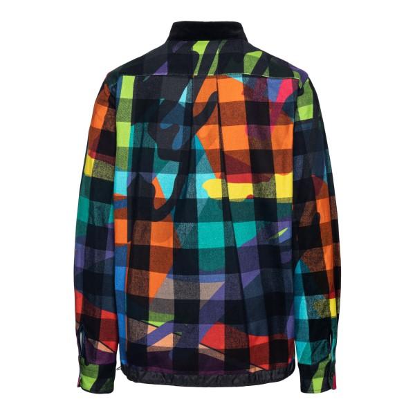 Camicia multicolore a quadri                                                                                                                           SACAI                                              SACAI
