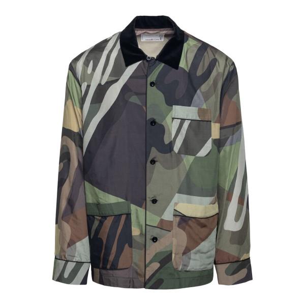 Camouflage shirt                                                                                                                                      Sacai 2102574M back