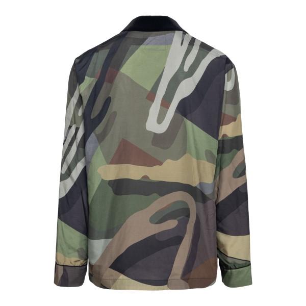 Camouflage shirt                                                                                                                                       SACAI