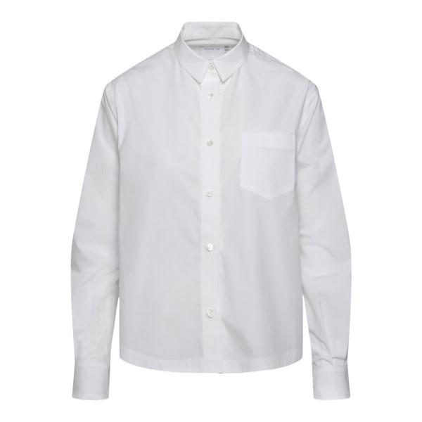 White shirt with paisley print                                                                                                                        Sacai 2105695 back