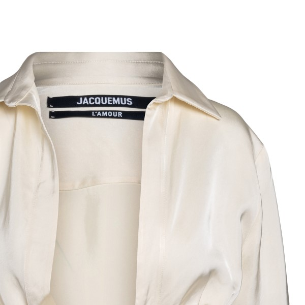 White shirt with curls                                                                                                                                 JACQUEMUS