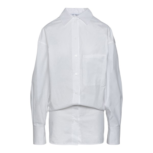 White shirt in long design                                                                                                                            The Attico 213WCT63 back