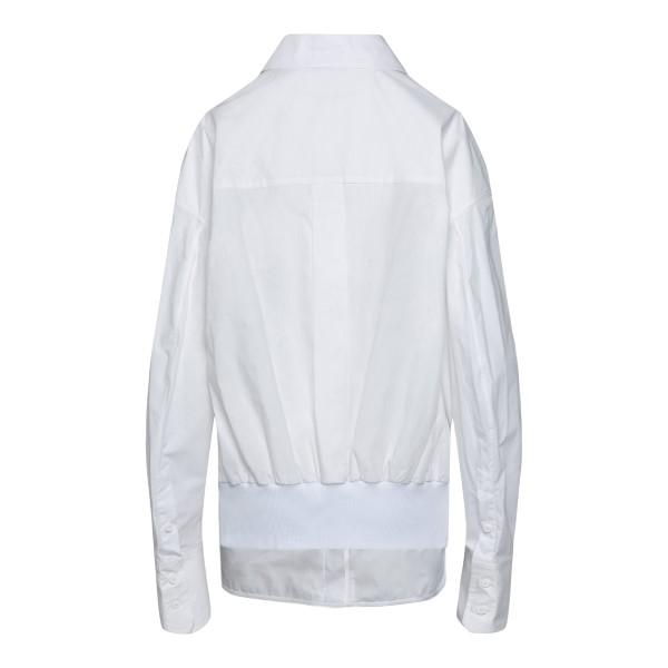 Camicia bianca in design lungo                                                                                                                         THE ATTICO                                         THE ATTICO