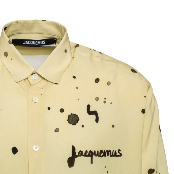 Yellow shirt with patterned print                                                                                                                      JACQUEMUS