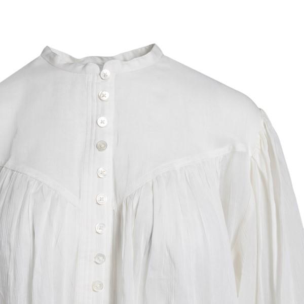 Camicia bianca in design semitrasparente                                                                                                               ISABEL MARANT                                      ISABEL MARANT