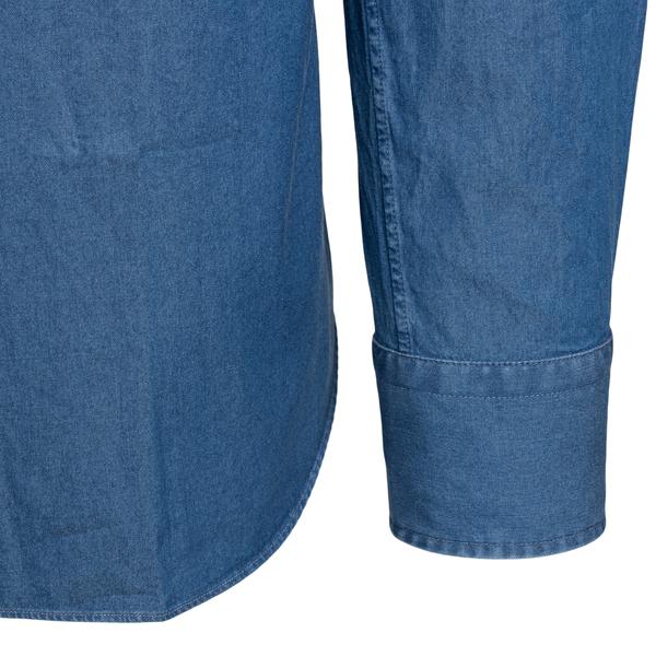 Camicia blu denim                                                                                                                                      XACUS XACUS