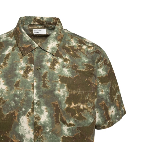 Brown shirt with worn effect color                                                                                                                     UNIVERSAL WORKS