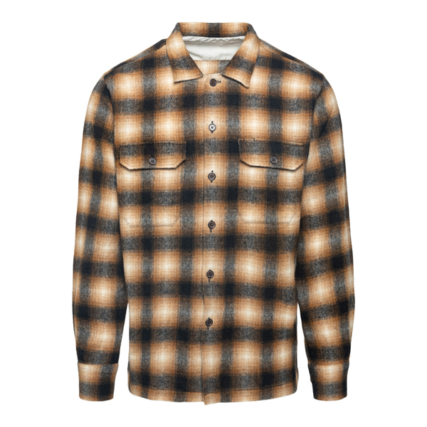 Wool shirt                                                                                                                                            Universal Works 25661 back