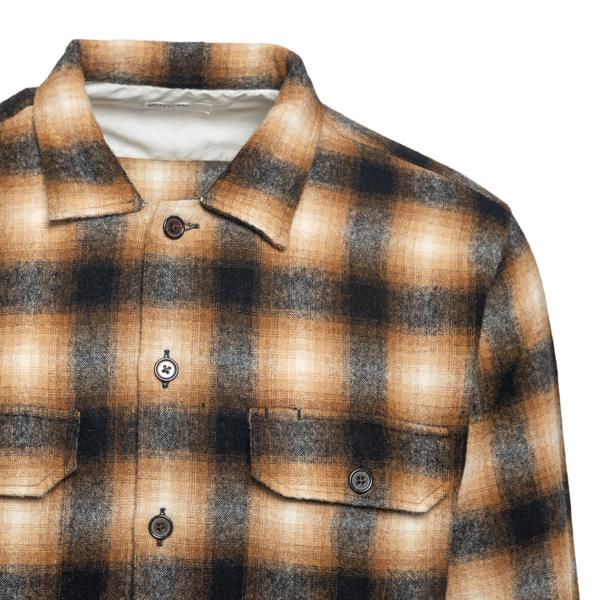 Wool shirt                                                                                                                                             UNIVERSAL WORKS