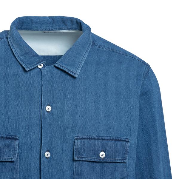Blue denim shirt                                                                                                                                       UNIVERSAL WORKS