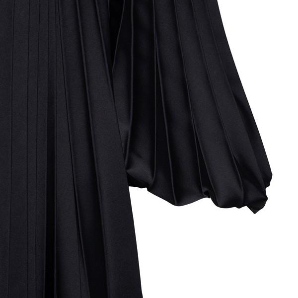 Camicia nera oversize con plissettature                                                                                                                BROGNANO                                           BROGNANO
