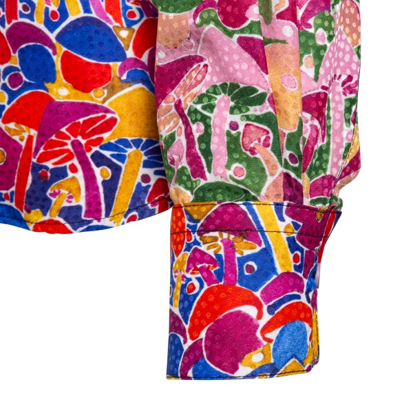 Multicolored shirt with floral print                                                                                                                   M MISSONI