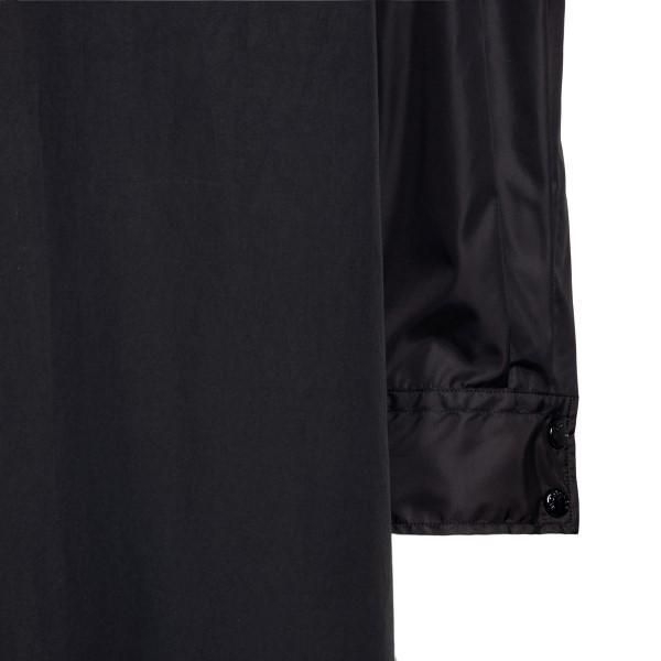 Long black coat with pocket                                                                                                                            MONCLER