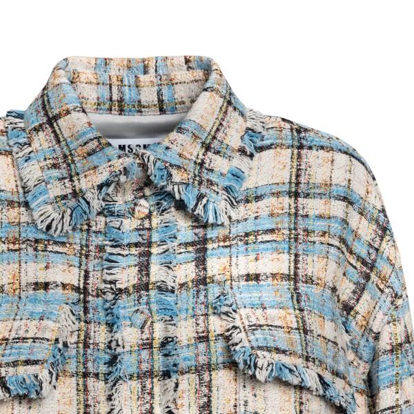 Camicia multicolore a quadri                                                                                                                           MSGM                                               MSGM