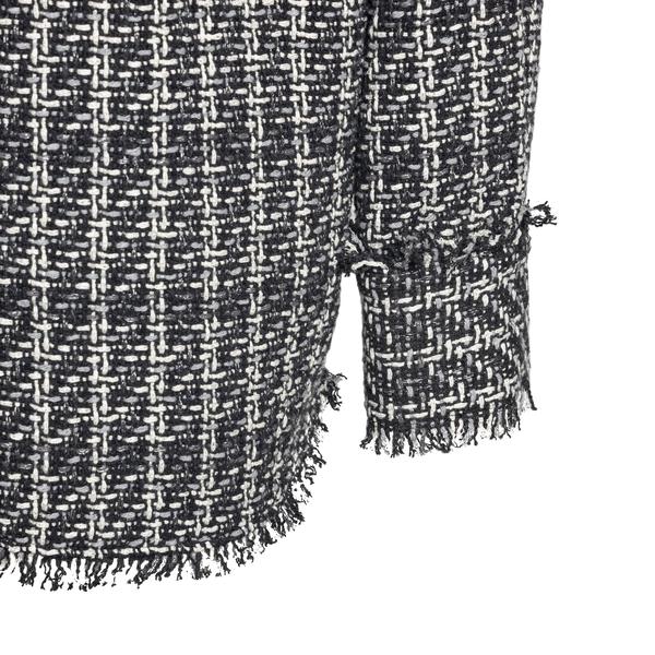 Camicia in tweed grigia                                                                                                                                MSGM                                               MSGM