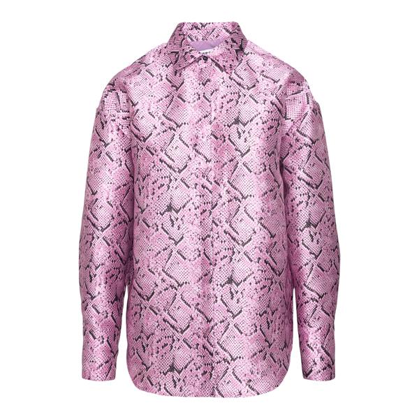 Camicia rosa effetto serpente                                                                                                                          MSGM                                               MSGM