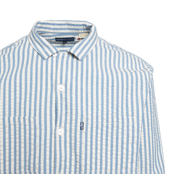White and blue striped shirt                                                                                                                           LEVI'S