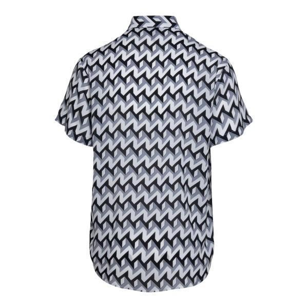 Camicia multicolore con pattern geometrico                                                                                                             EMPORIO ARMANI                                     EMPORIO ARMANI