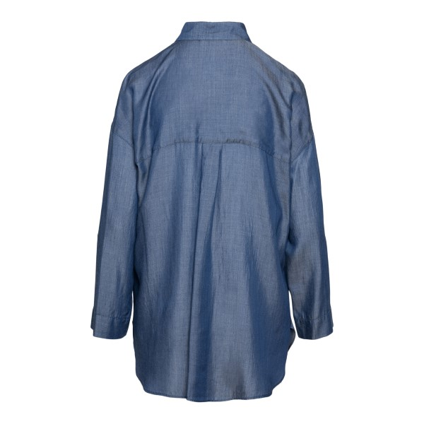 Long blue shirt                                                                                                                                        EMPORIO ARMANI