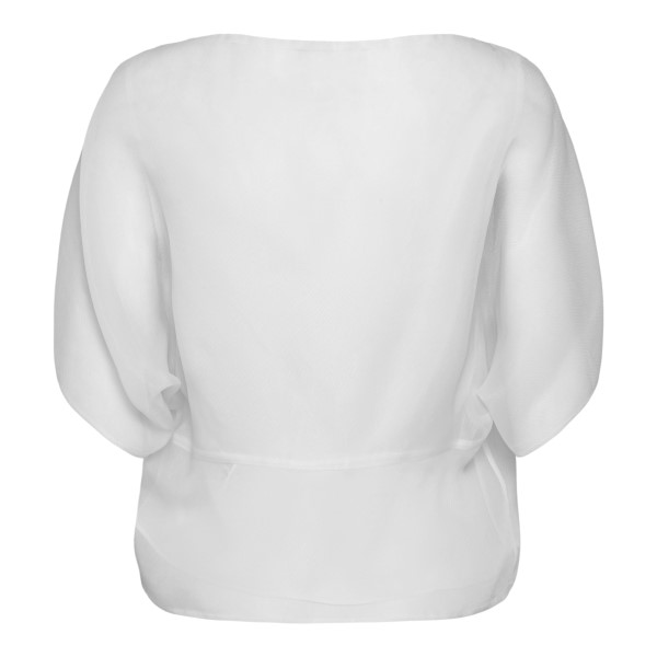 White top with wide sleeves                                                                                                                            EMPORIO ARMANI
