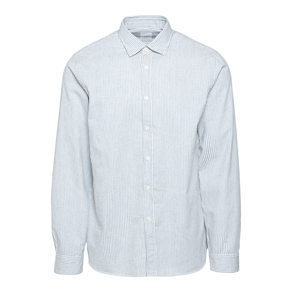 White shirt with blue stripes                                                                                                                         Xacus 428ML back