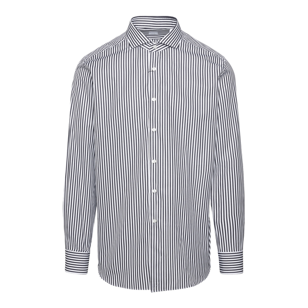 White striped shirt                                                                                                                                    XACUS