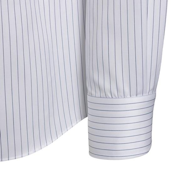 Camicia bianca con trama a righe                                                                                                                       XACUS                                              XACUS