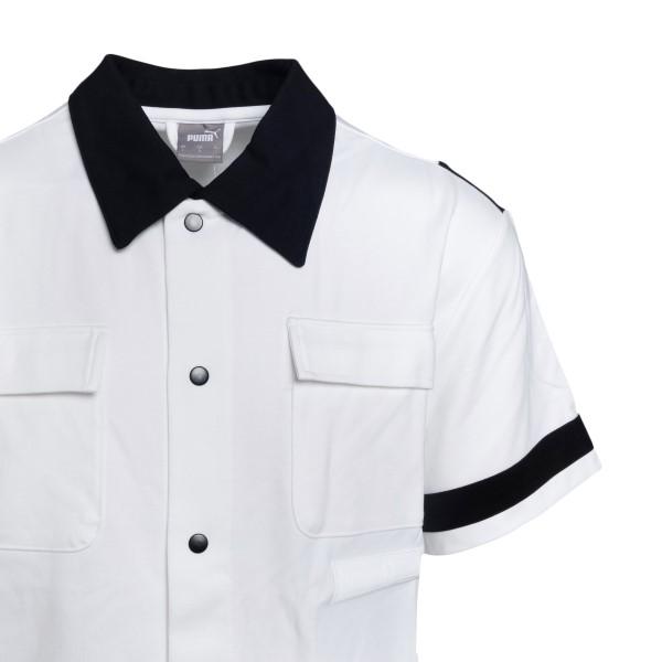 Camicia bianca con dettagli a contrasto                                                                                                                PUMA X RHUDE PUMA X RHUDE