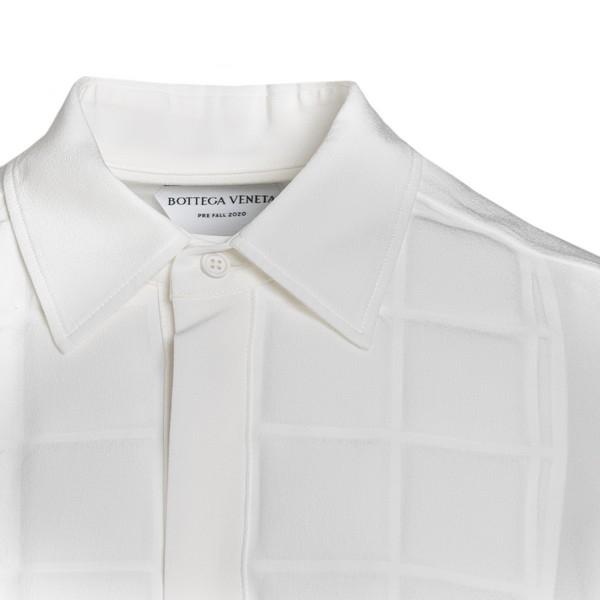 White shirt with padded plastron                                                                                                                       BOTTEGA VENETA