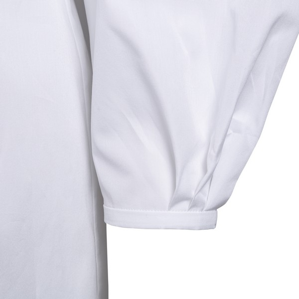 White shirt with puff sleeves                                                                                                                          ALEXANDER MCQUEEN