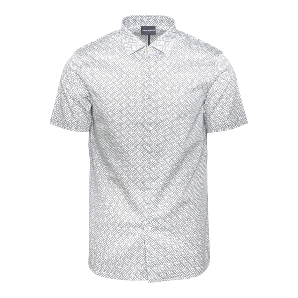 Short-sleeved shirt                                                                                                                                   Emporio Armani 6K1C74 back