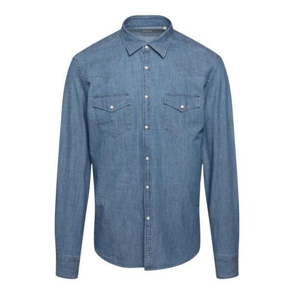 Blue denim shirt                                                                                                                                       XACUS