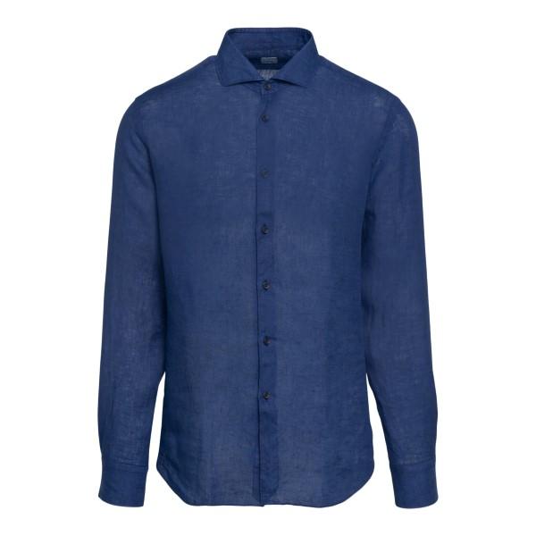 Classic blue shirt                                                                                                                                     XACUS