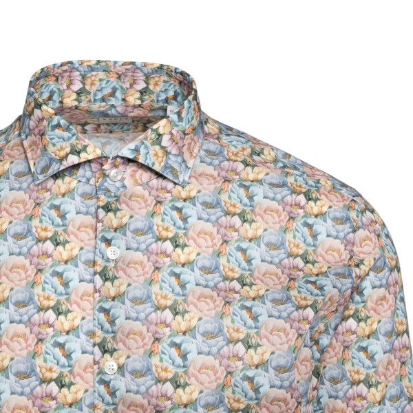 Shirt with floral pattern                                                                                                                              XACUS