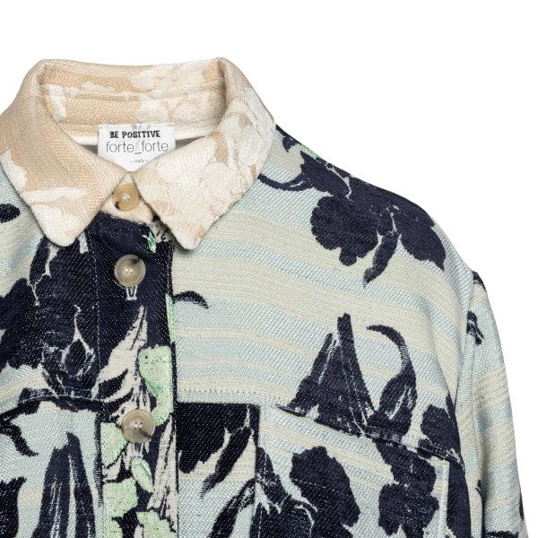Multicolored floral shirt                                                                                                                              FORTE FORTE