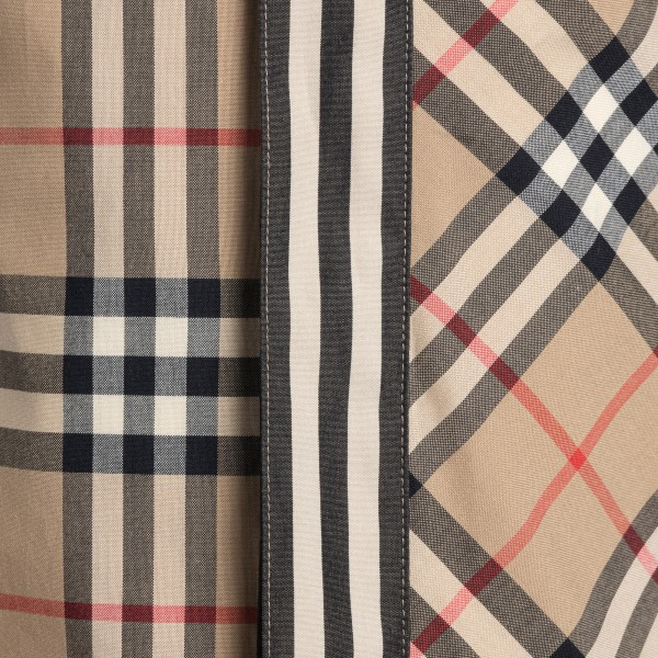 Beige checked shirt                                                                                                                                    BURBERRY