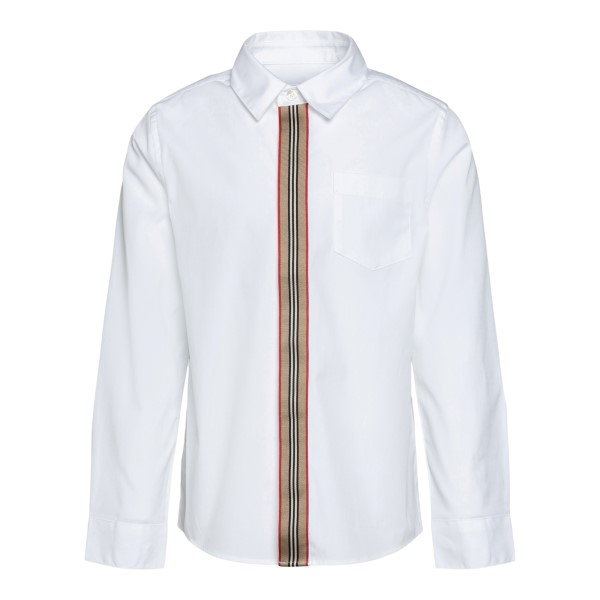 White shirt with band detail                                                                                                                          Burberry 8030103 back