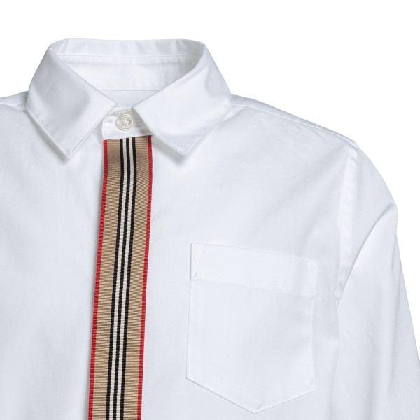 White shirt with band detail                                                                                                                           BURBERRY