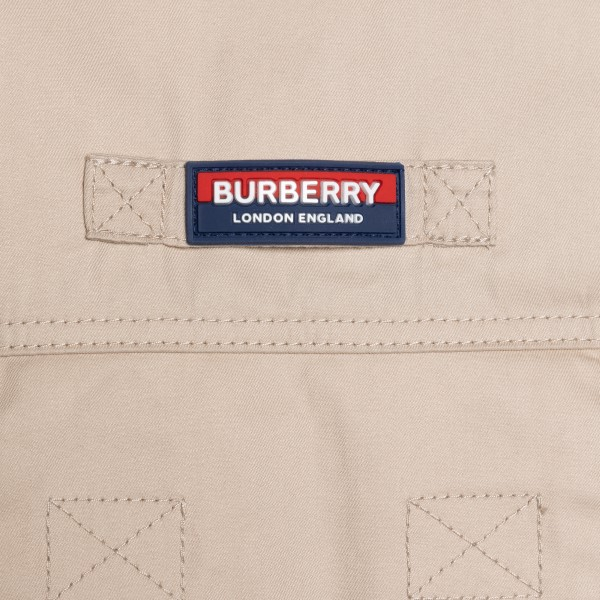 Beige shirt with pockets                                                                                                                               BURBERRY