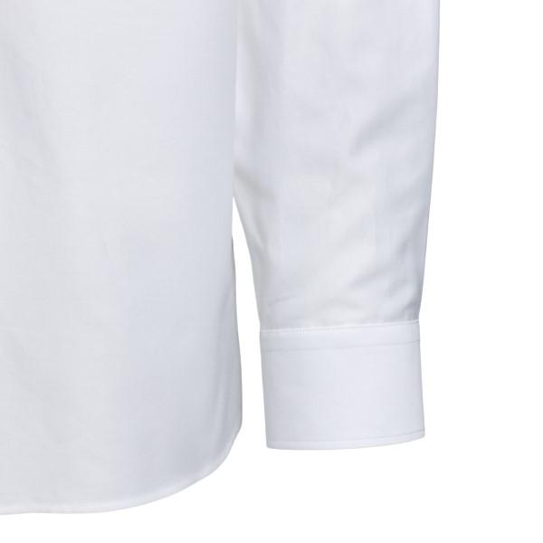 White shirt with tonal logo                                                                                                                            BURBERRY