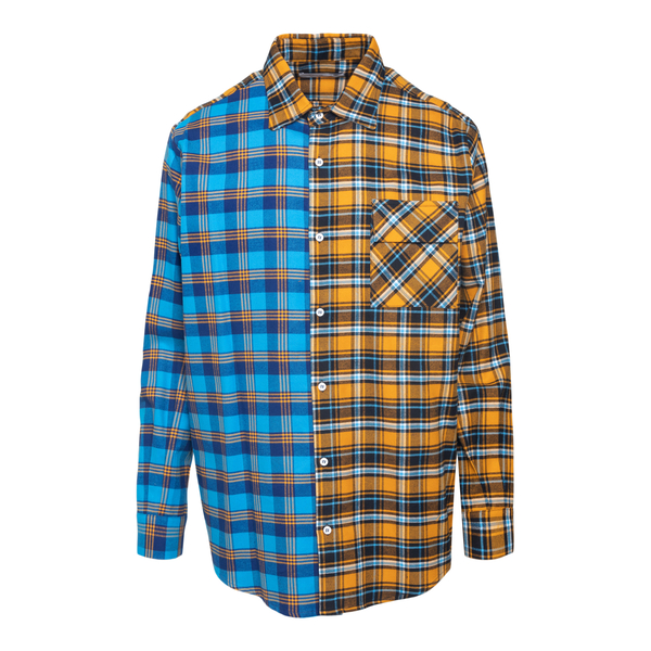 Camicia bicolore a scacchi                                                                                                                             C.9.3                                              C.9.3