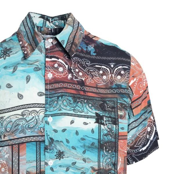 Multicolored paisley print shirt                                                                                                                       C.9.3
