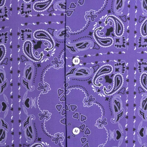 Purple paisley print shirt                                                                                                                             C.9.3